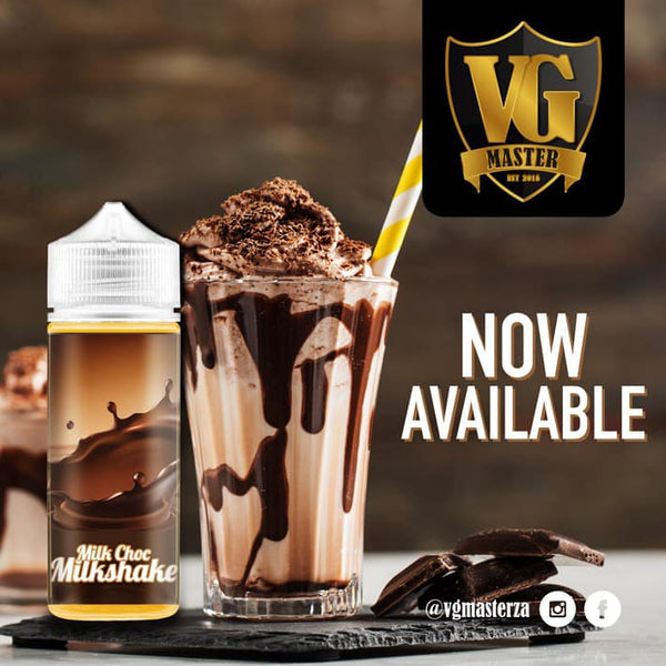 Milk Chocolate Milkshake - 120ml - 2mg by VG Master