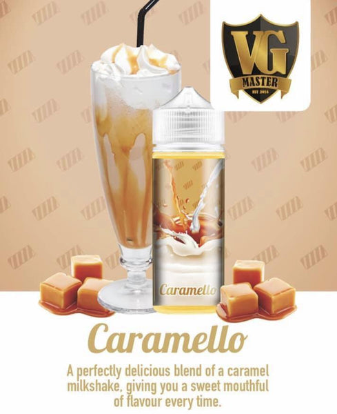 Caramello - 120ml - 2mg by VG Master