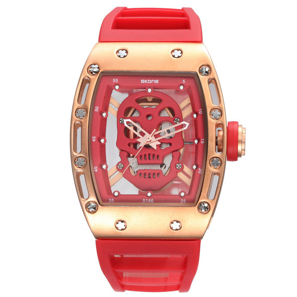 Pirate Skull Military Watch - Shop Now at www.appleandjuice.com