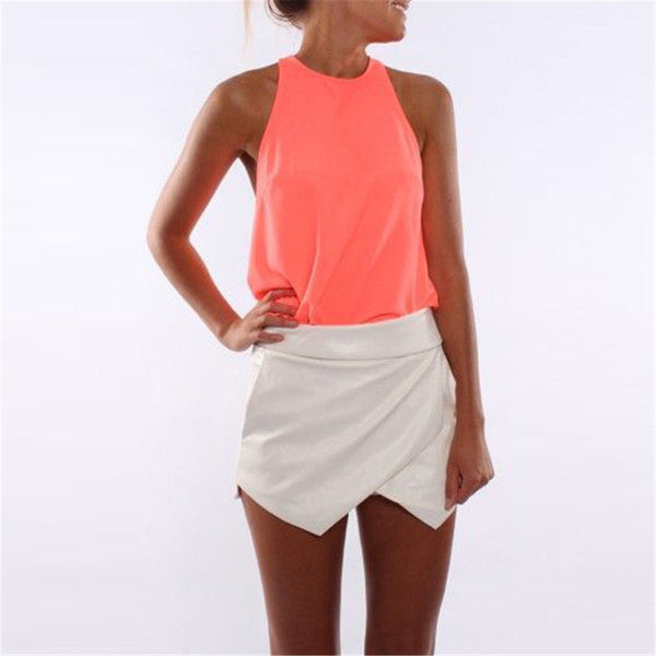 Chiffon Tank Top - Shop Now at www.appleandjuice.com