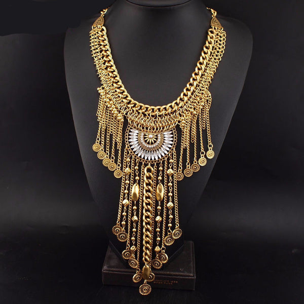 Gypsy Style Statement Necklace