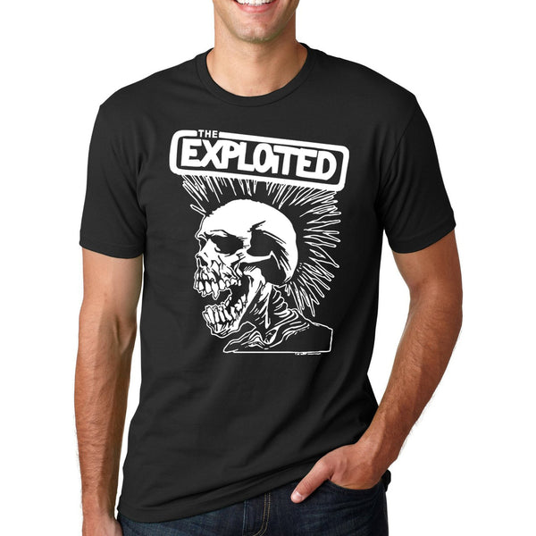 Punk Skull Graphic T-Shirt - Shop Now at www.appleandjuice.com