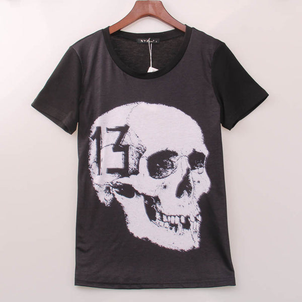 Skull Rock Band T-Shirt - Shop Now at www.appleandjuice.com