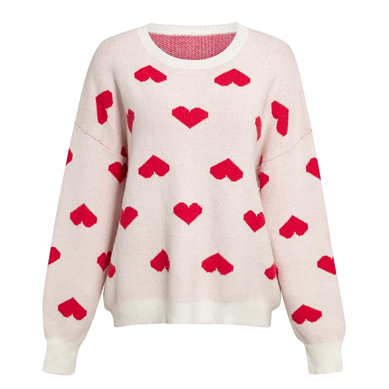 BE MINE Crop Sweater