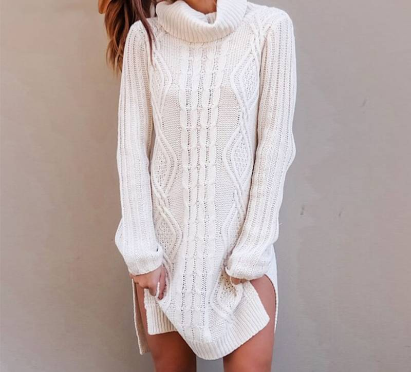 ROBIN Mini Sweater Dress