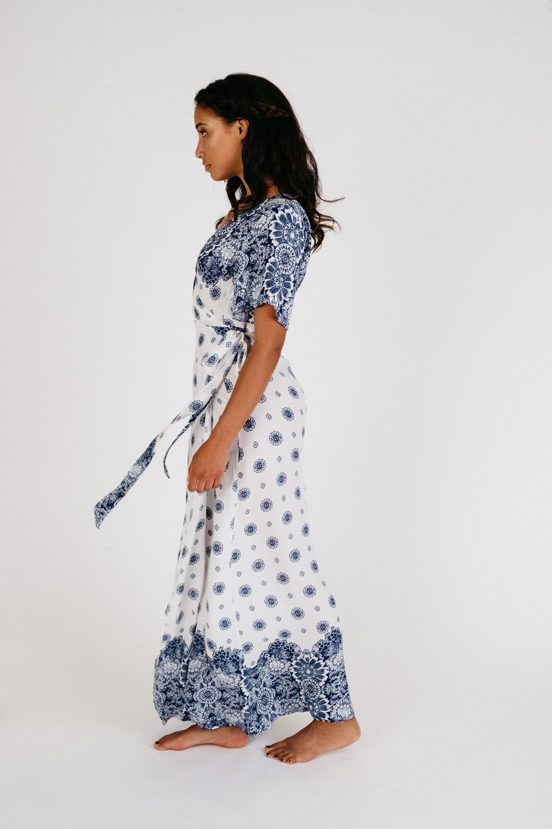 AMY ROSE Wrap Dress - bahia blue boutique - Dress