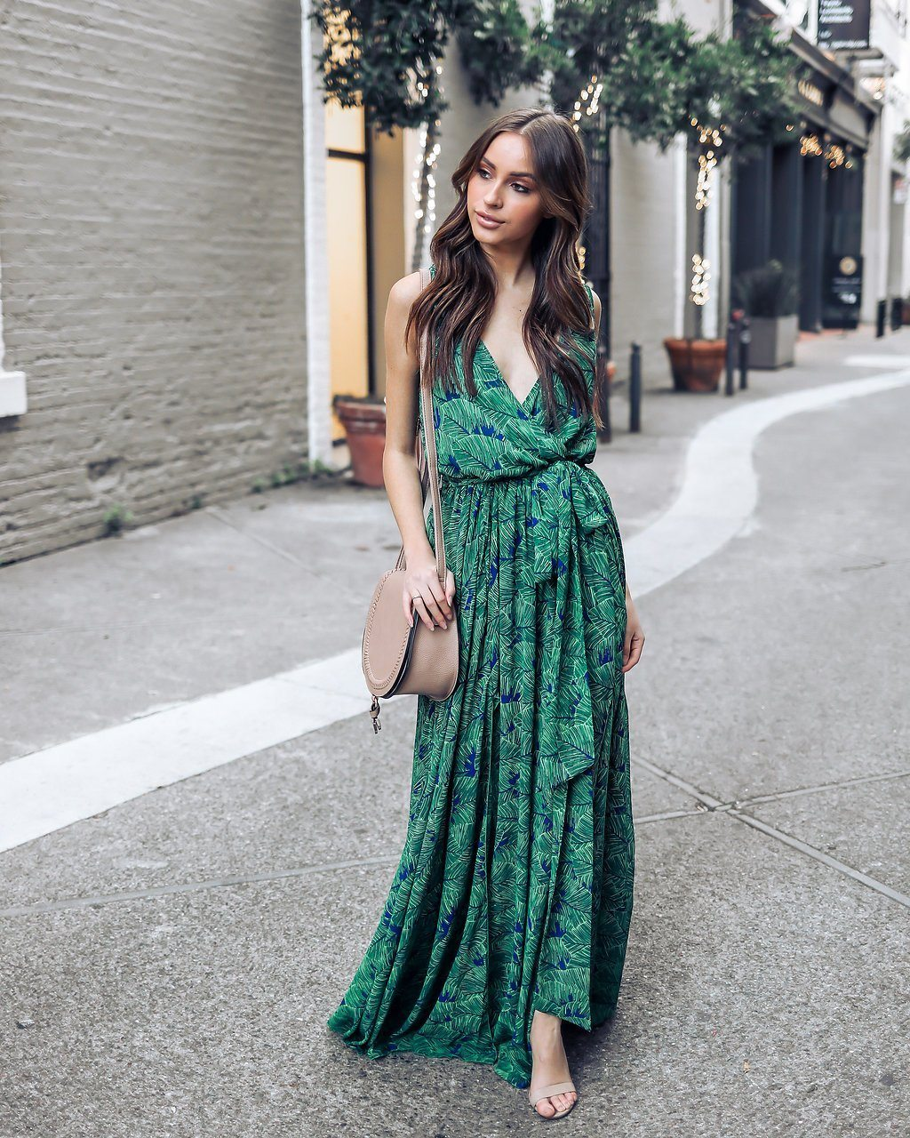BONDI JADE Maxi Dress - bahia blue boutique - Dress