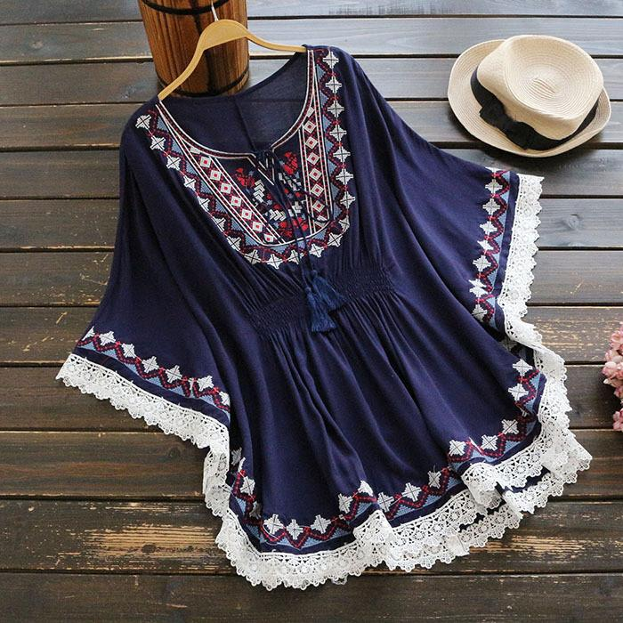 INDIGO CHILD Tunic - bahia blue boutique - Dress
