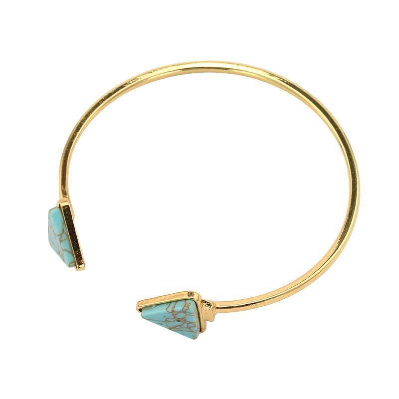 GEO Bangle Bracelet - bahia blue boutique -