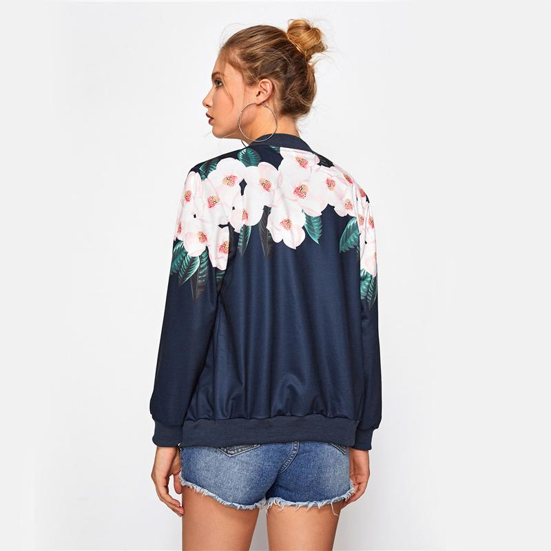 ORCHID DREAMER Bomber Jacket - bahia blue boutique - Jackets