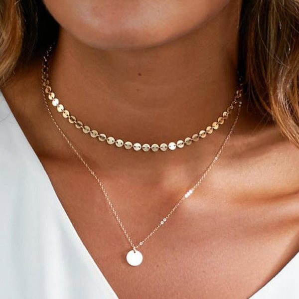 Necklaces - NORAH Dainty Layered Necklace