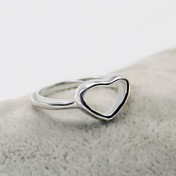 COEUR Silver Ring - bahia blue boutique - Rings