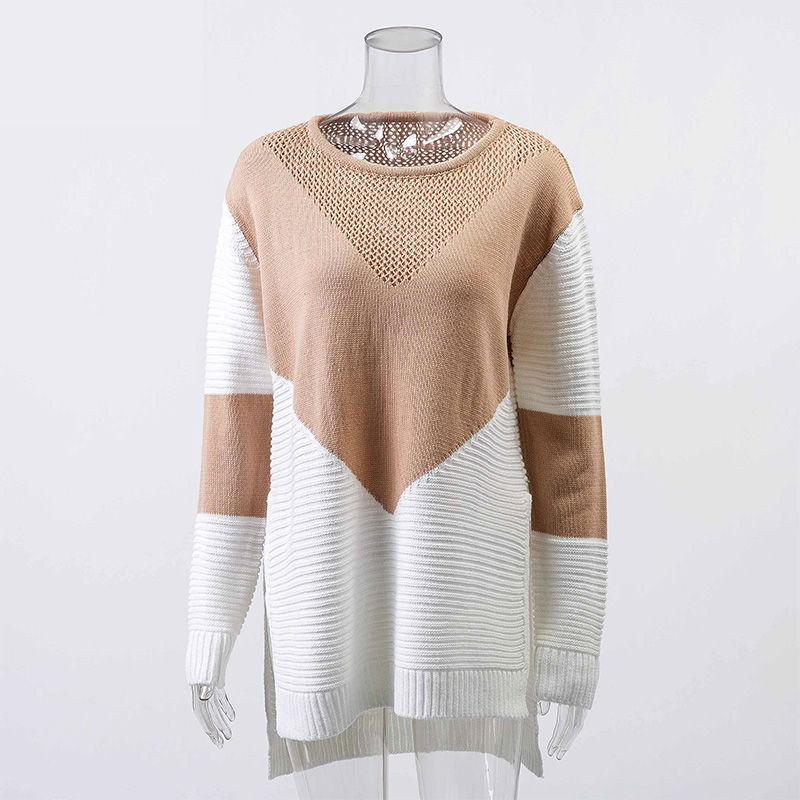 RHYE Color Block Sweater - bahia blue boutique - Sweater
