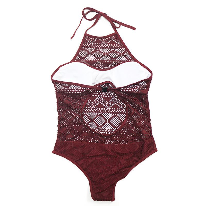 IYKA TAYA Broderie One Piece - bahia blue boutique - Swimsuits