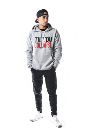 TYC Pull Over Hoodie- Grey