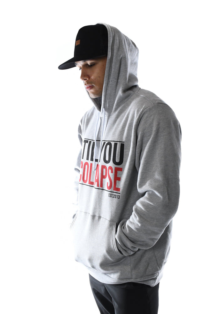 Load image into Gallery viewer, TYC Pull Over Hoodie- Grey