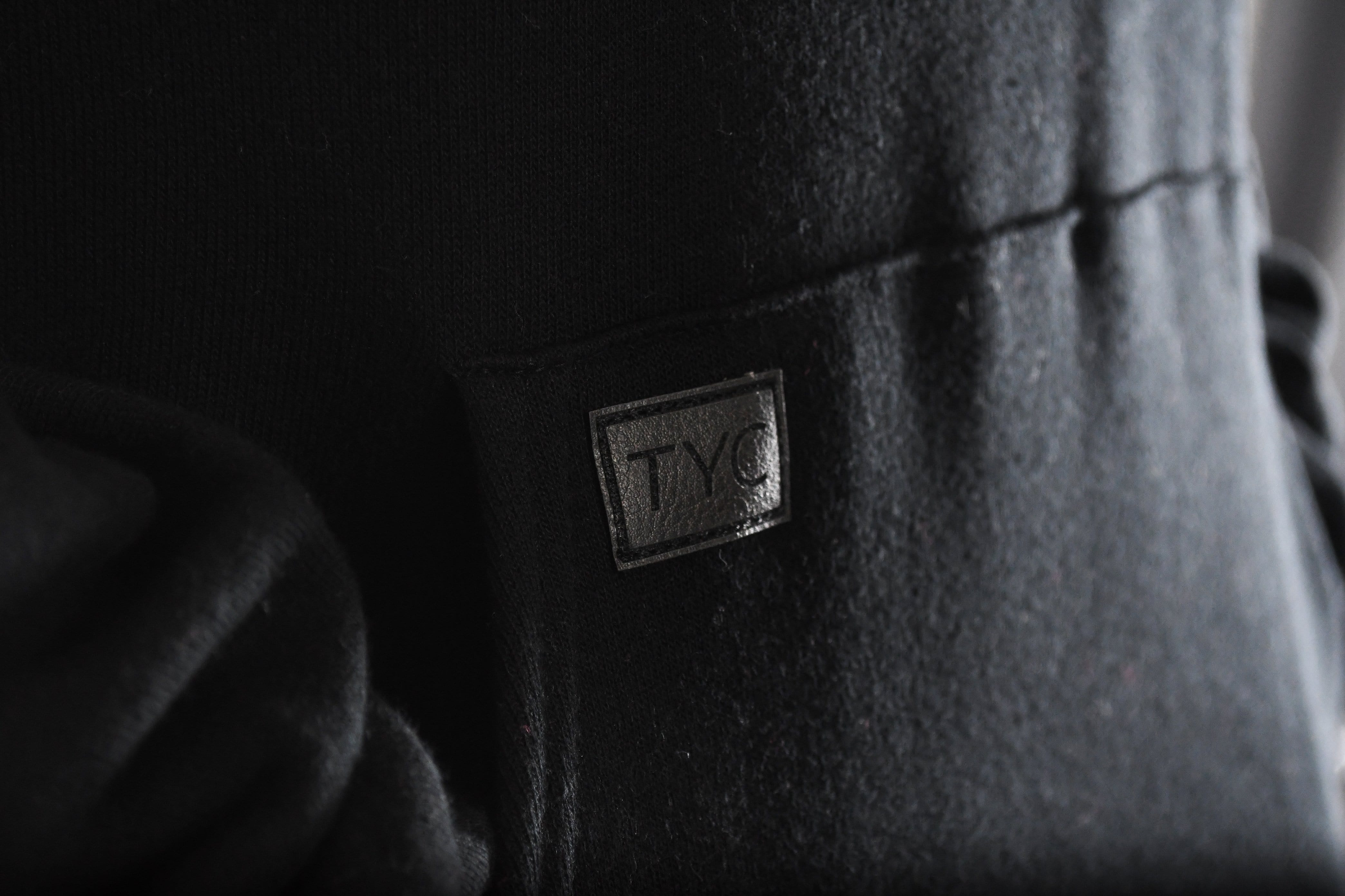 TYC Pull Over Patch Hoodie- Black