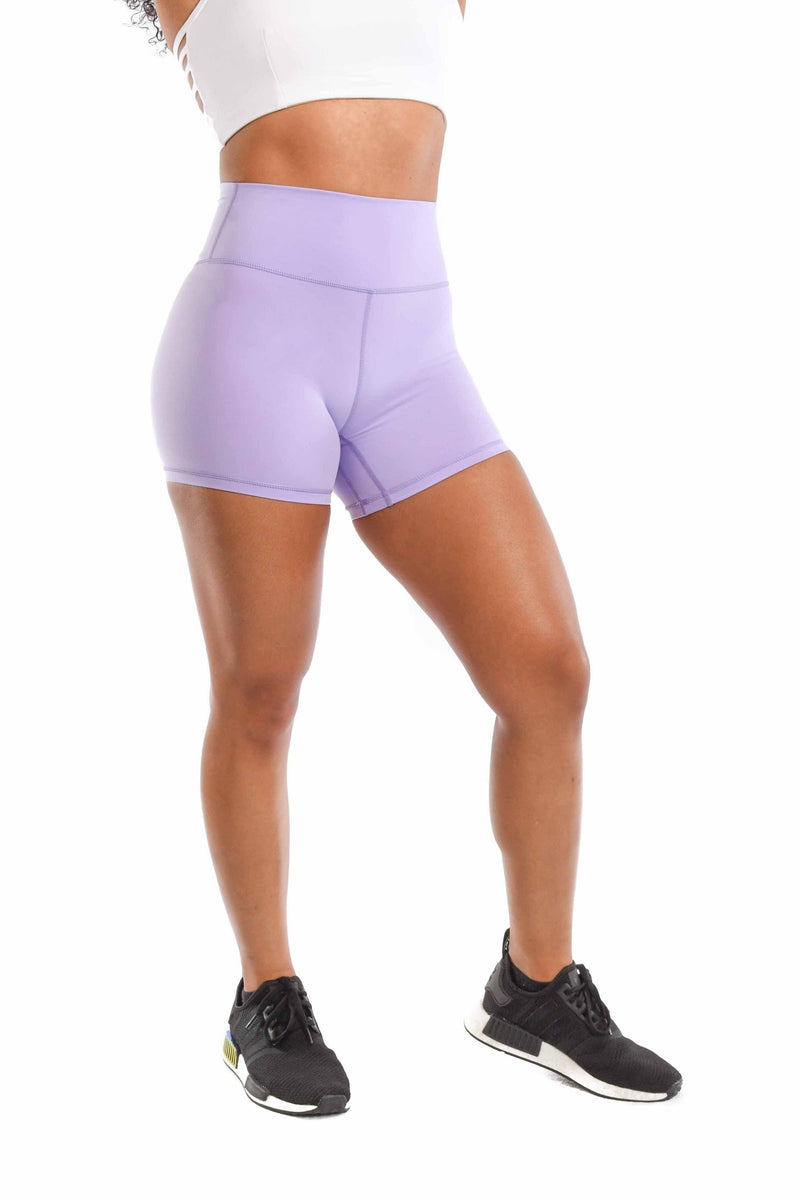 Effortless Classic Shorts- Lavender