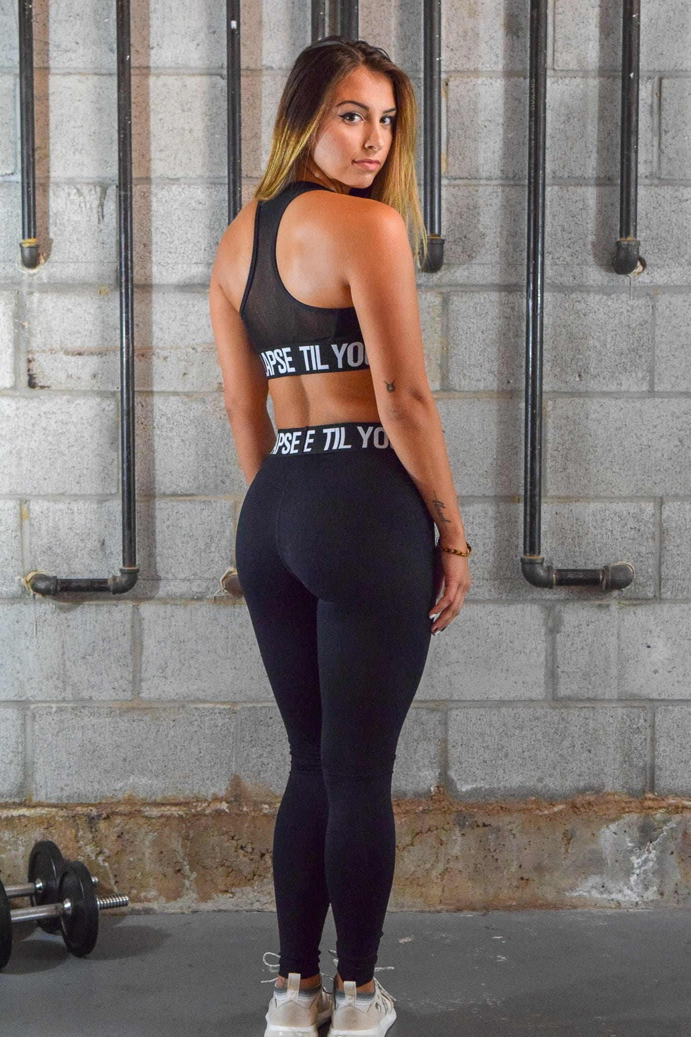 Resilient Branded Leggings