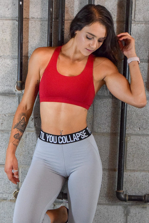 Premium Branded Crisscross Sports Bra