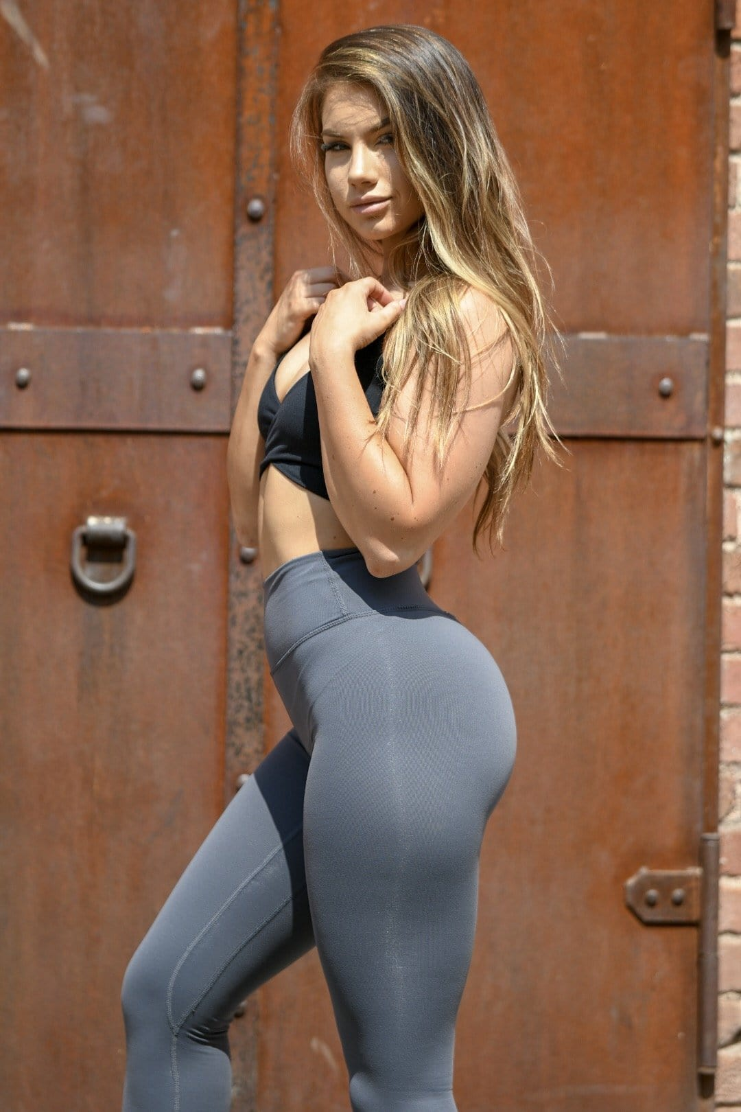 Resilient Classic Leggings- Steel