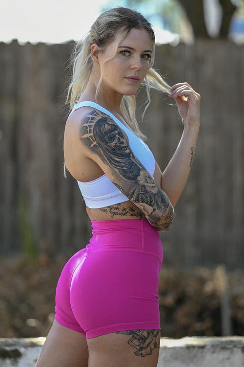 Resilient Classic Shorts- Fuchsia