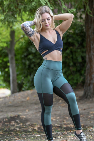 Resilient Scrunch Leggings- Tan