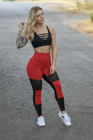 Premium Charcoal Grey Heart Booty Leggings