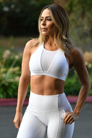 Load image into Gallery viewer, Premium Mesh Sports Bra