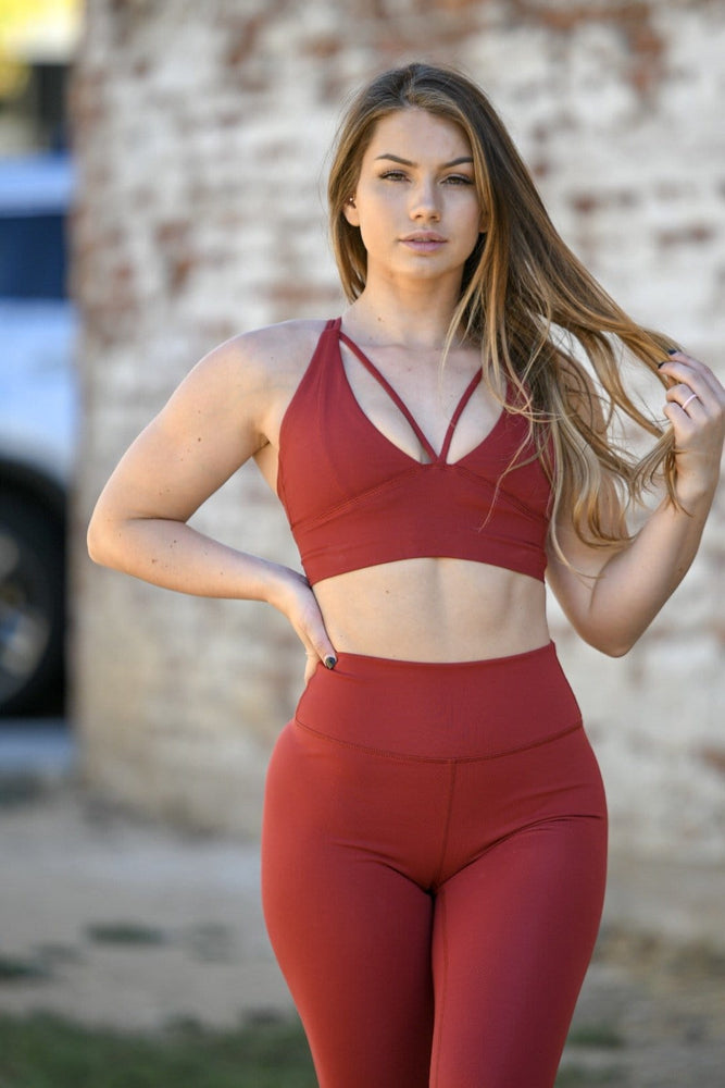 Load image into Gallery viewer, Premium Goddess Sports Bra