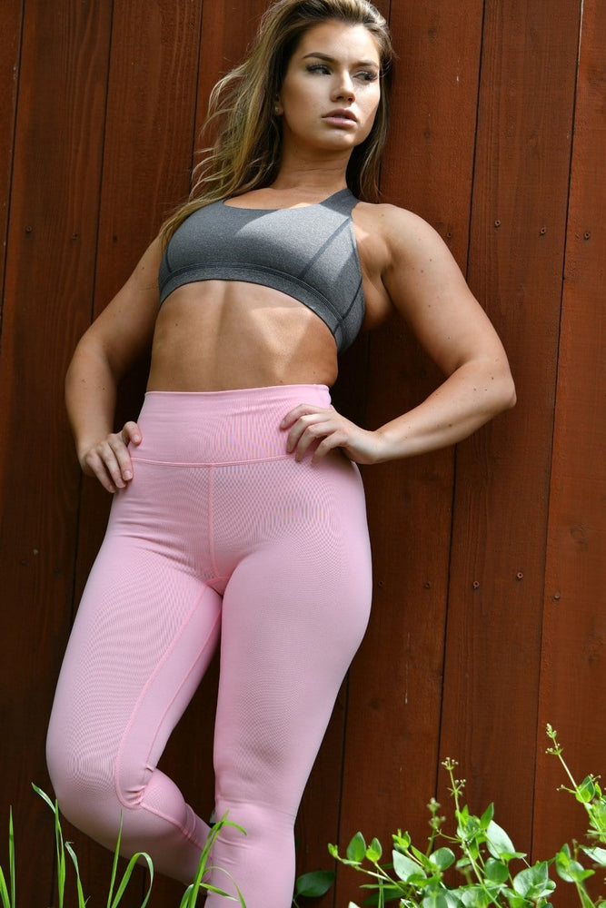 Resilient Classic Leggings- Pastel Pink