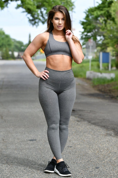 Resilient Classic Leggings- Charcoal