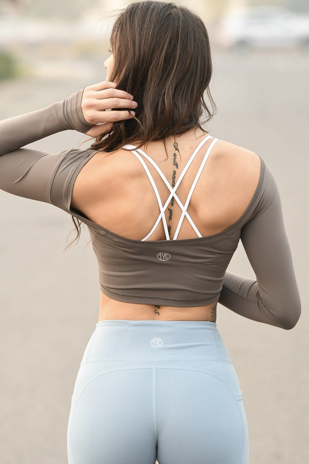 Scoop Back Crop Top
