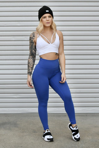 New Stretch Material Black Heart Booty Leggings