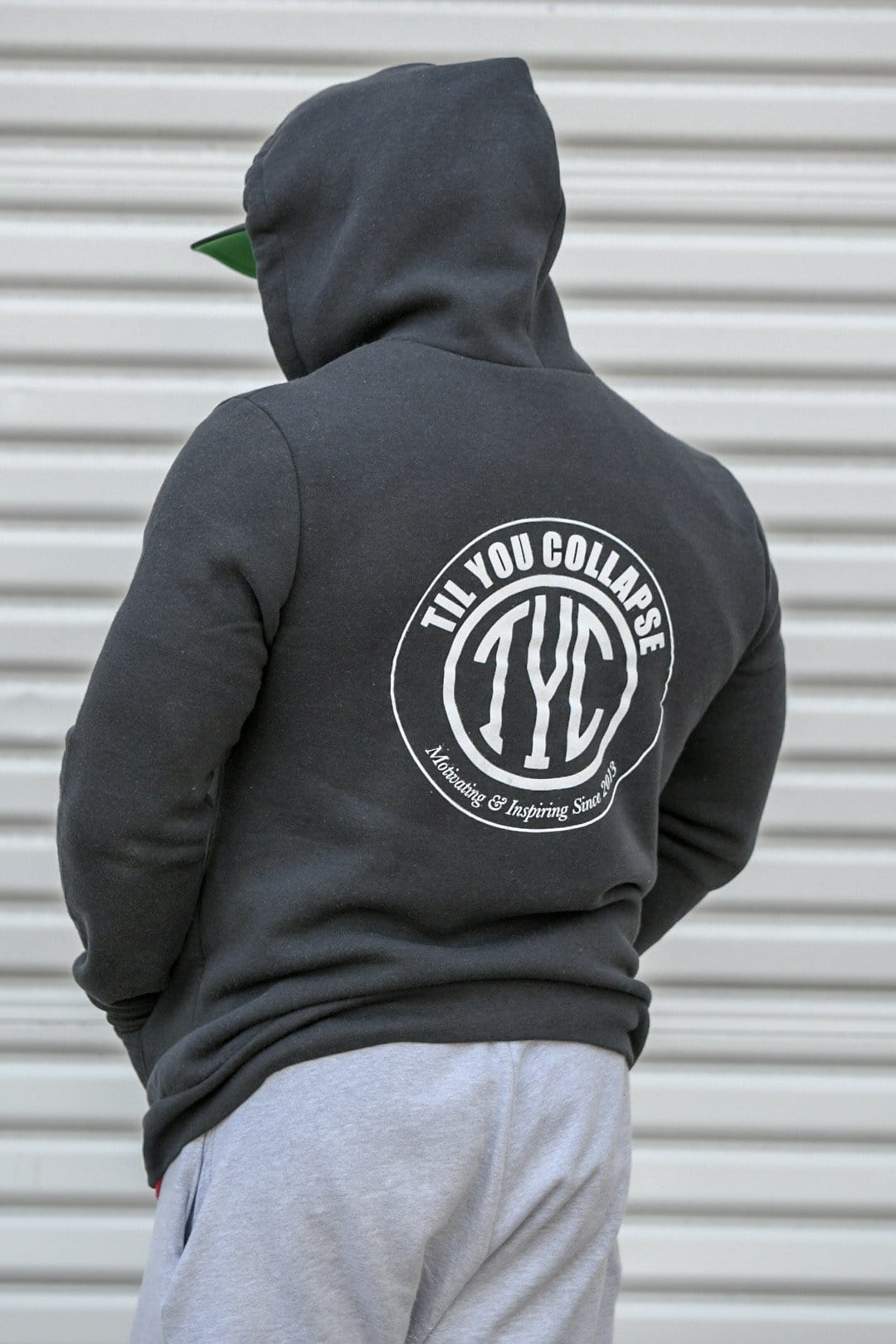 Til You Collapse Zip Up Hoodie