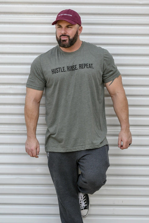 Hustle. Rinse. Repeat. T-shirt