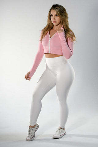 Resilient Heart Booty Leggings- Pastel Yellow