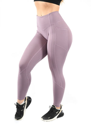 Load image into Gallery viewer, Intensity Heart Booty Leggings- Serenity