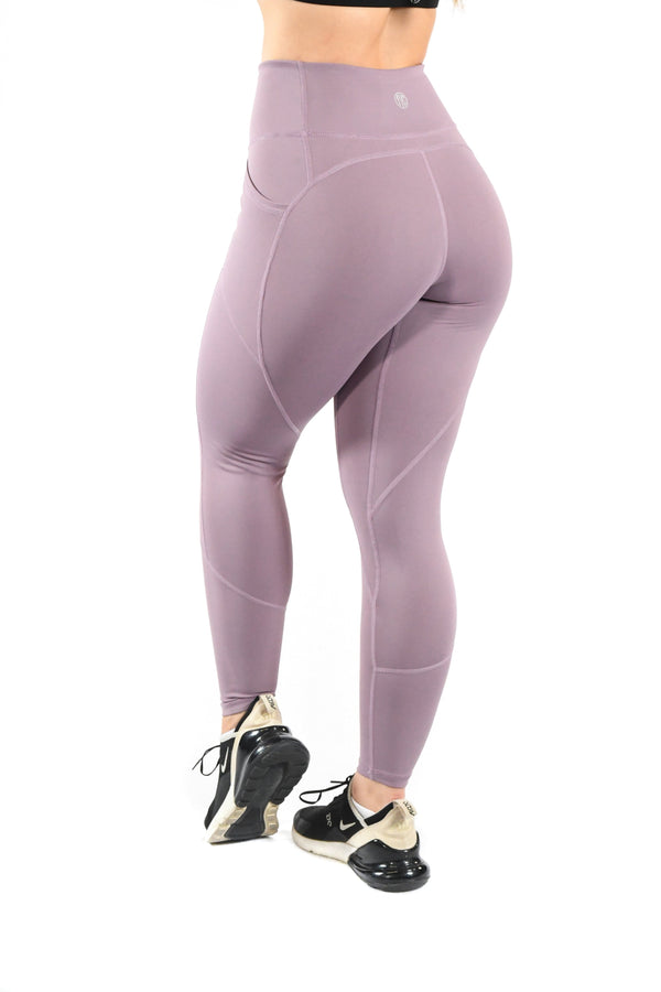 Intensity Heart Booty Leggings- Serenity