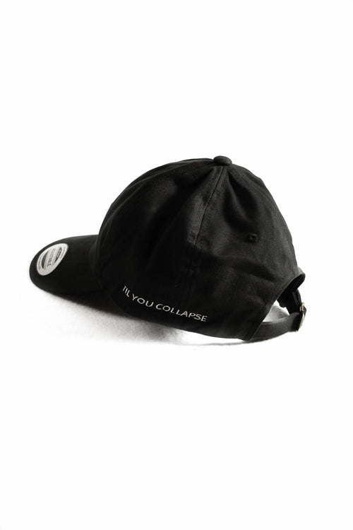 Hustle Dad Hat- Black