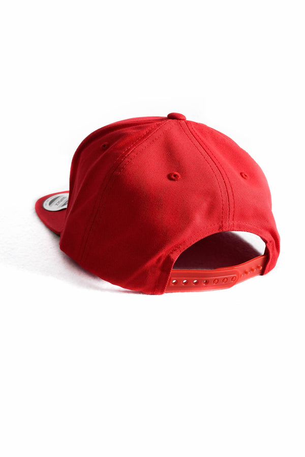 Snapback- Red Circle Patch