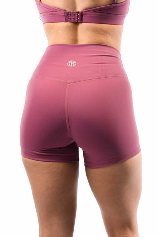 Effortless Classic Leggings- Mauve