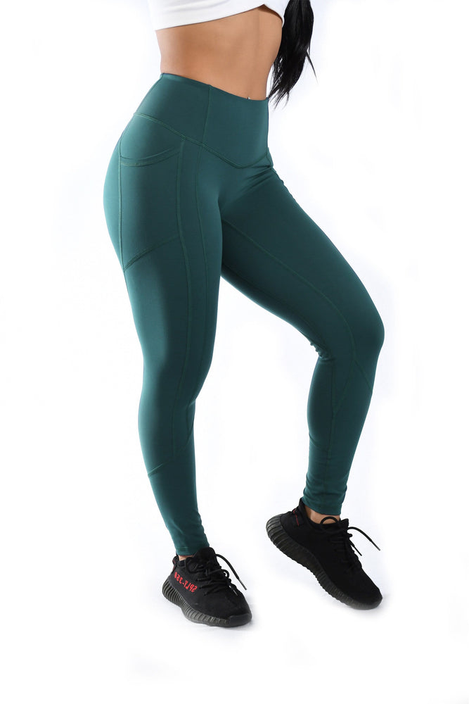 Effortless Heart Booty Leggings- Oasis