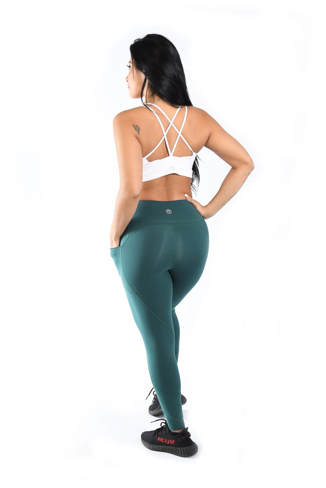 Load image into Gallery viewer, Effortless Heart Booty Leggings- Oasis