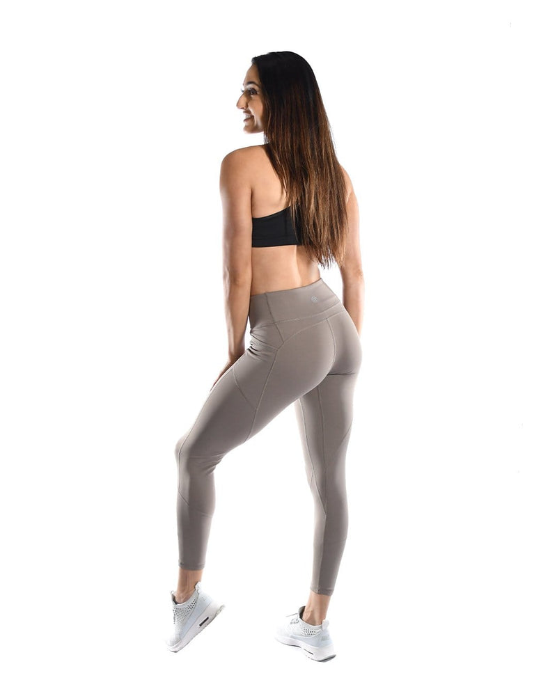 Intensity Heart Booty Leggings- Taupe