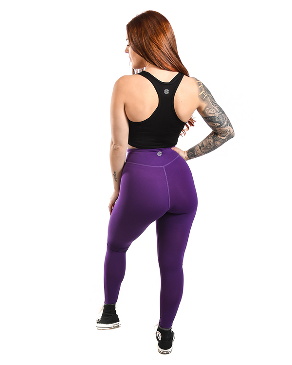 Effortless Vortex Classic Leggings- Boysenberry
