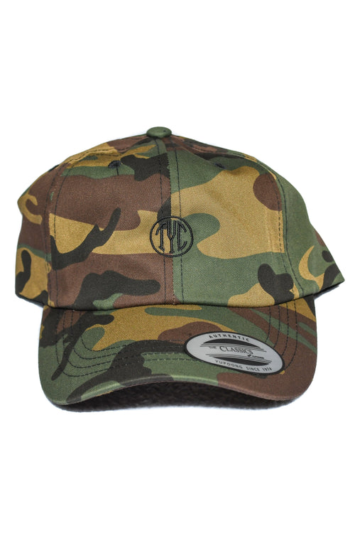 Dad Hat- Green Camo