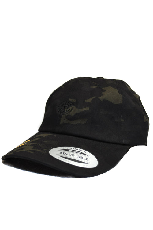 Dad Hat- Black Camo