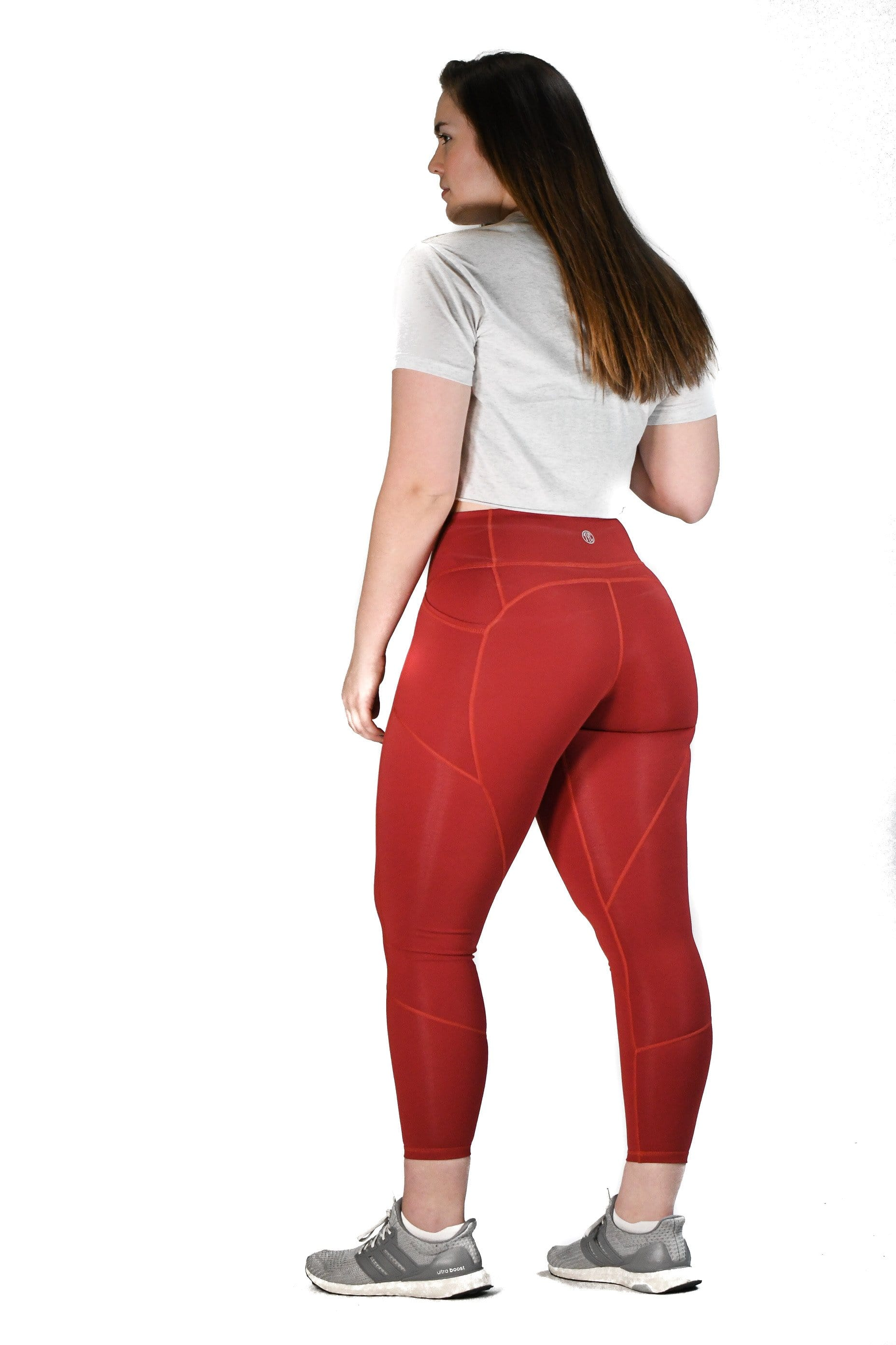 Resilient Heart Booty Leggings- Copper