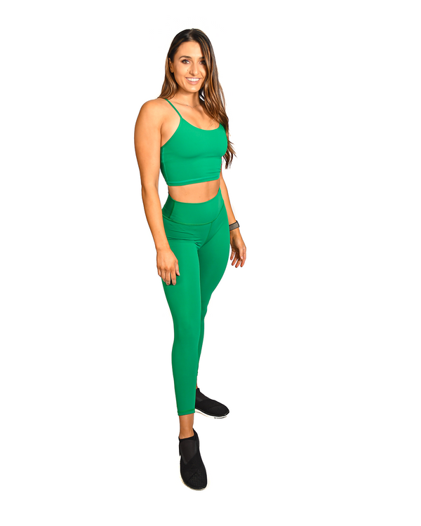 Effortless Classic Leggings- Jade